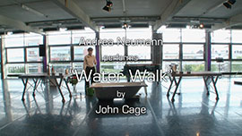"Andrea Neumann performs ""Water Walk"" by John Cage"